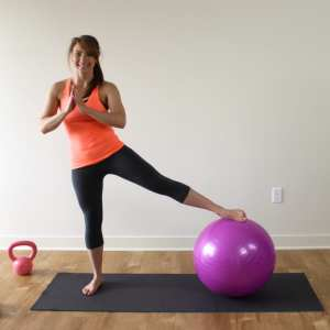 Have a Ball!! ~ Total Body Stability Ball Workout