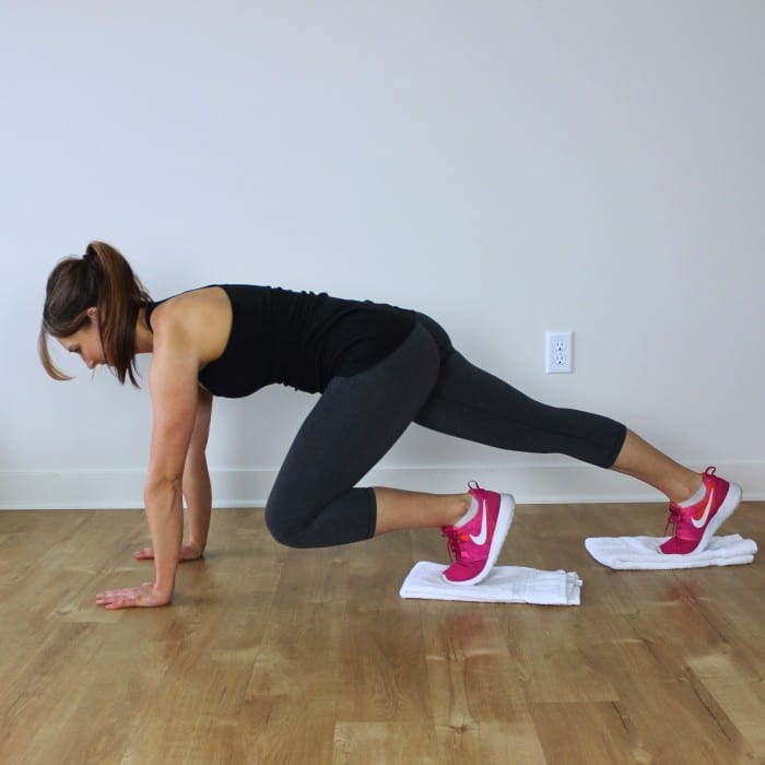 Body Workout With Towel