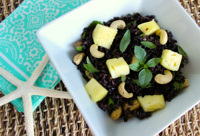 Thai Pineapple Black Rice