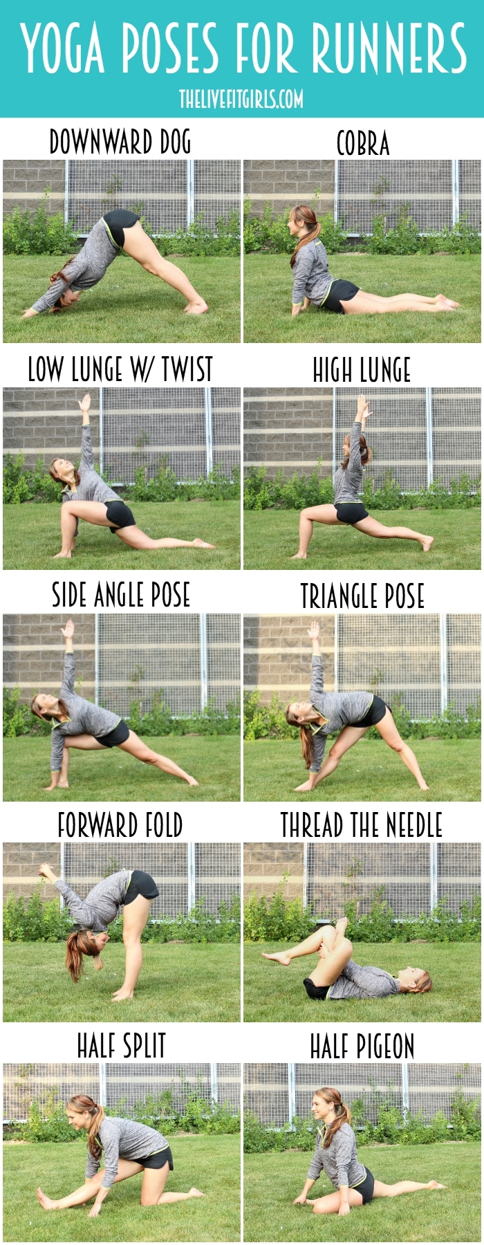 Yoga For Runners O Poses Sequence