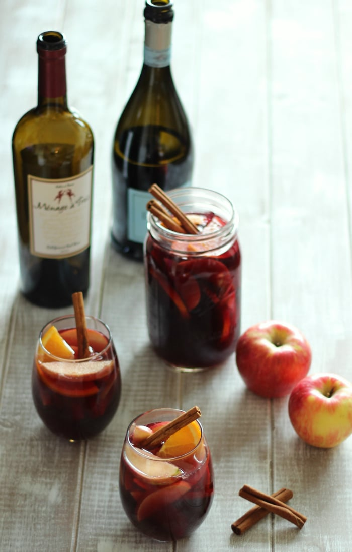 Honeycrisp Apple Cider Sangria