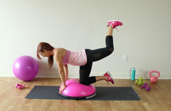 Bosu Booty Workout