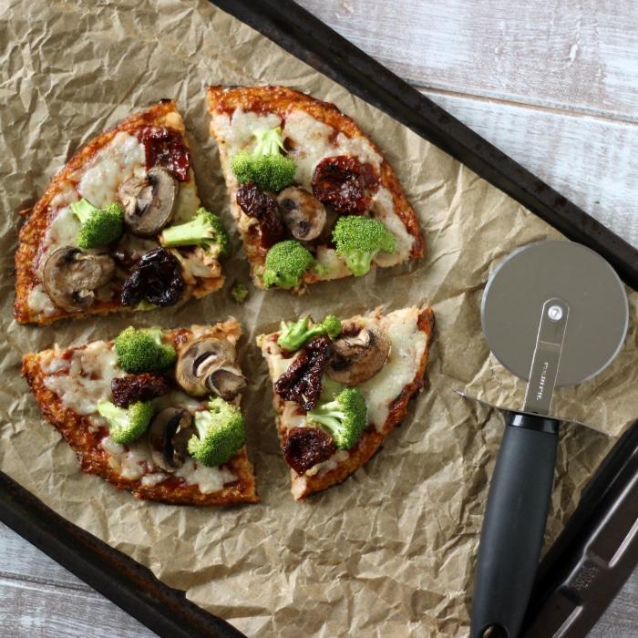 Healthy Cauliflower Pizza
