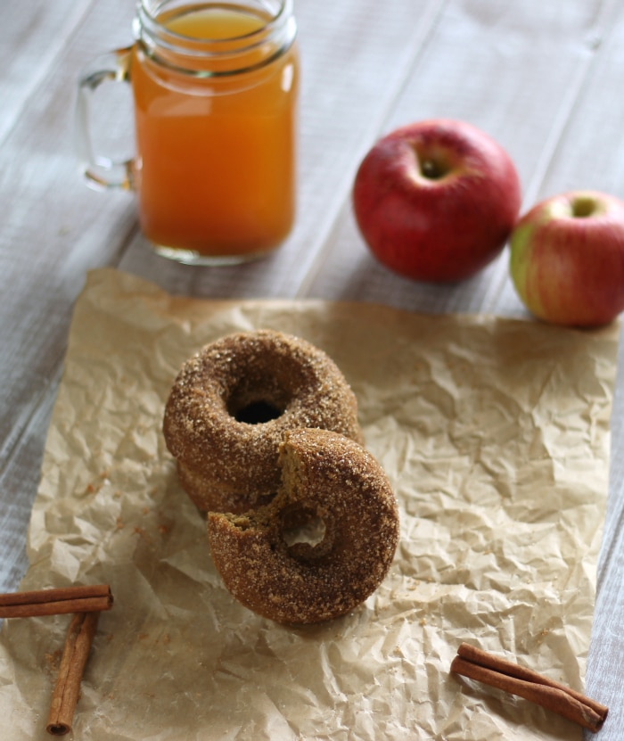 Healthy Apple Cider Donuts