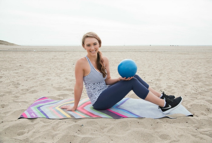 Mini Ball Ab Workout