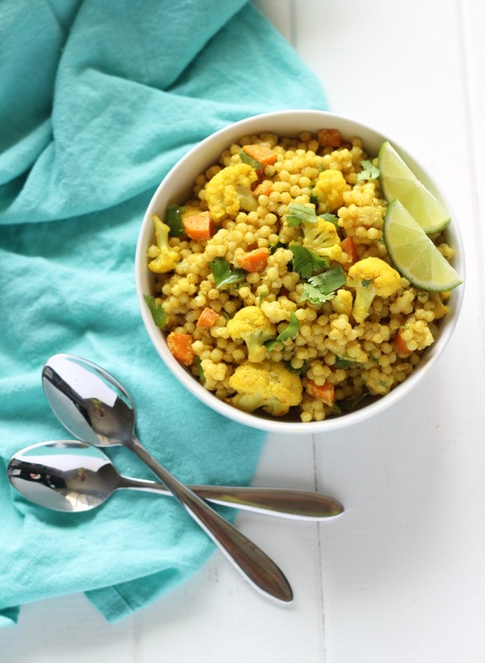 Curried Cous Cous