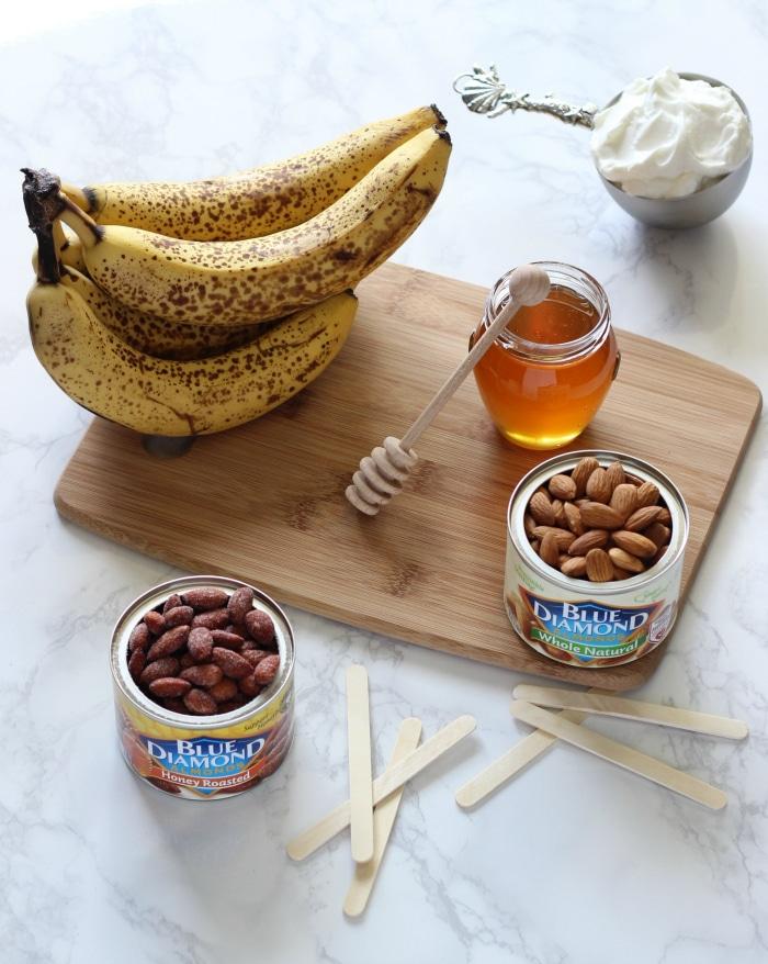 Healthy Yogurt Banana Pops