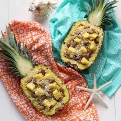 Piña Colada Breakfast Quinoa