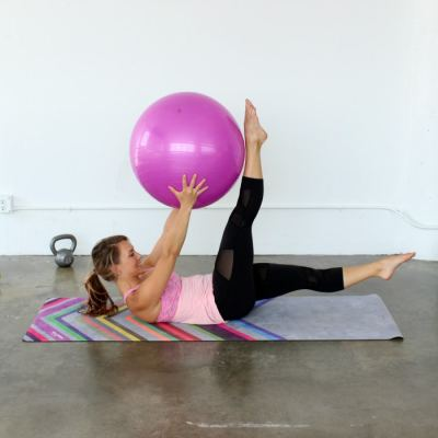 Pilates with the Stability Ball!