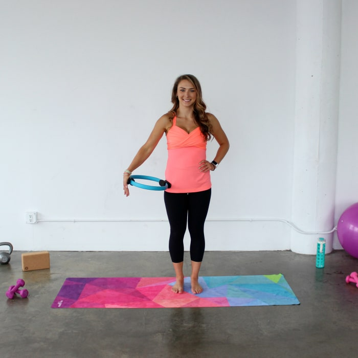 Pilates Magic Circle exercises for your arms