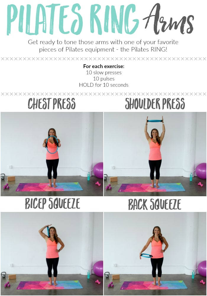 Pilates Ring Arm Workout