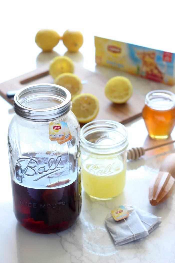 Skinny Iced Tea Lemonade