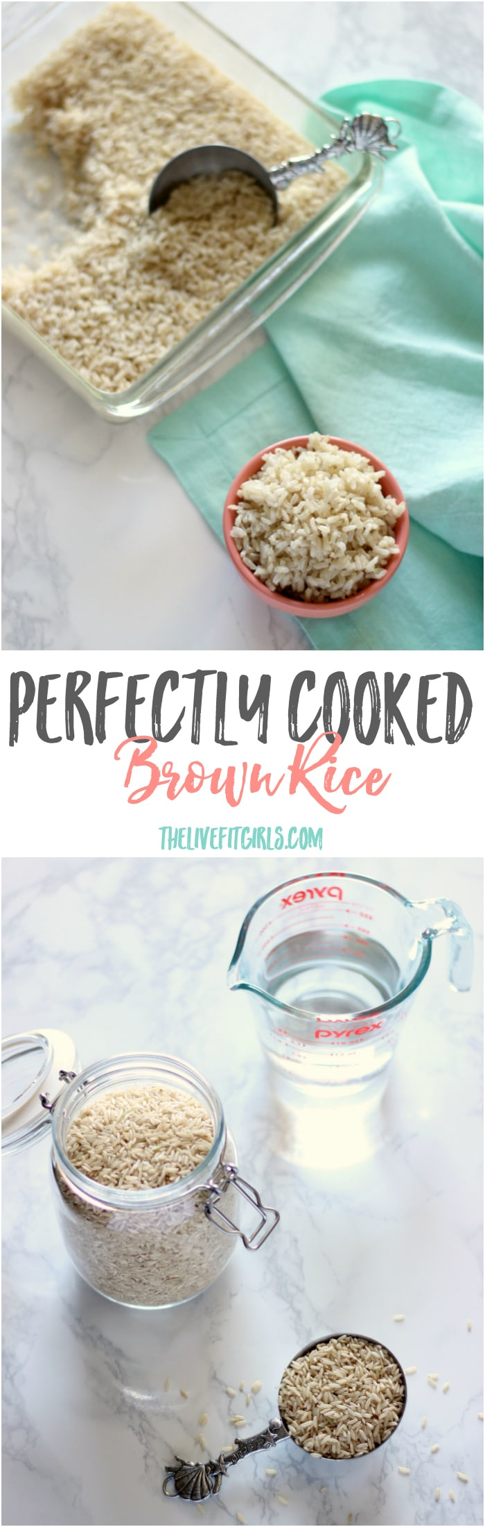 Perfectly Cooked Brown Rice Pin