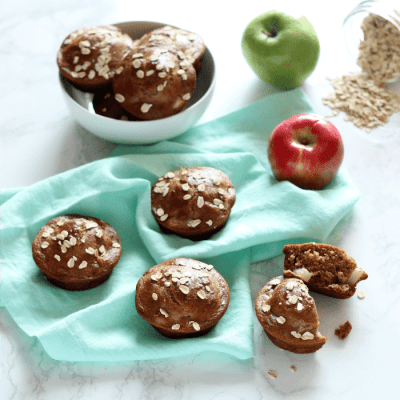 Healthy Apple Spice Muffins