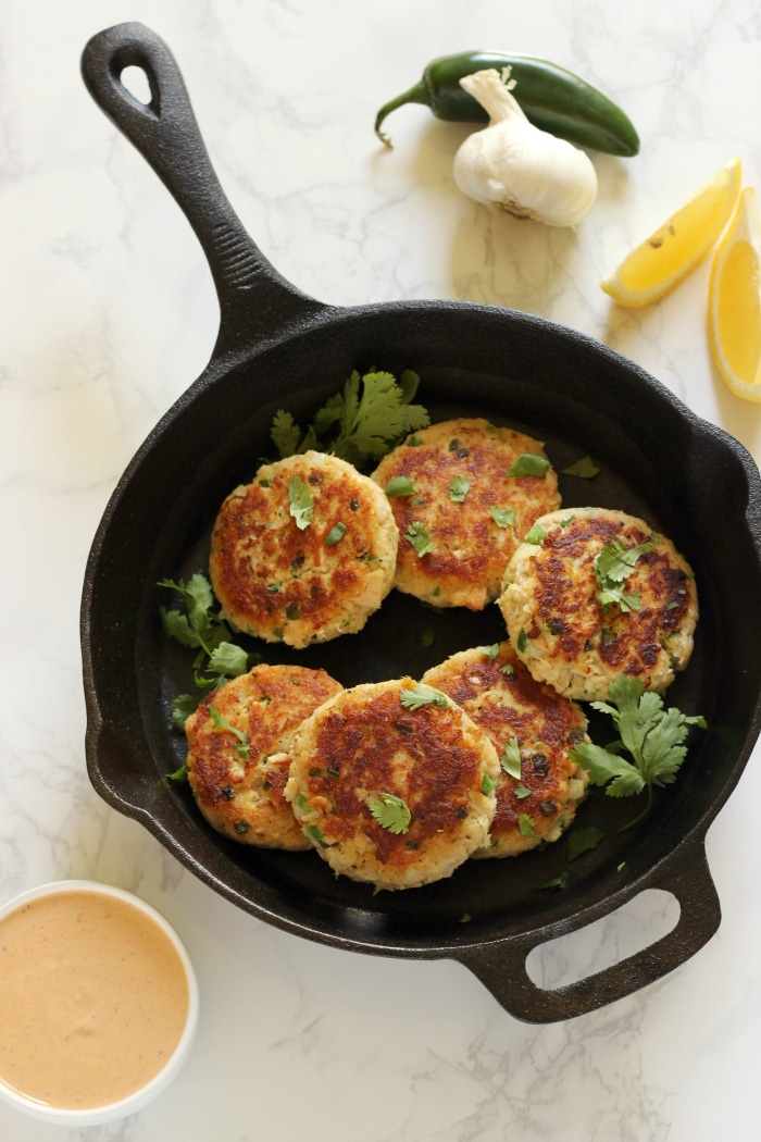 Spicy Jalapeno Tuna Cakes
