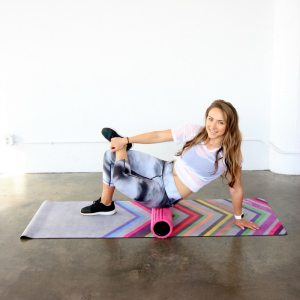 Foam Rolling to De-Stress