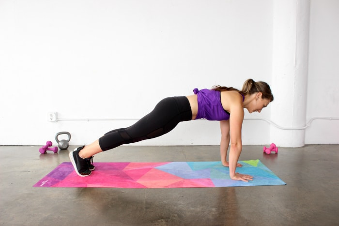 How to do a Perfect Plank to tone your abs