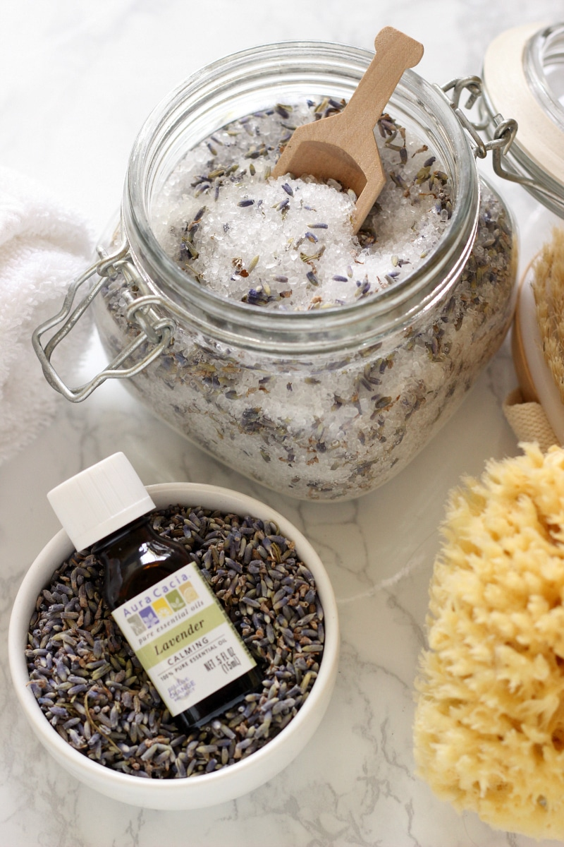Homemade Lavender Bath Salts The Live Fit Girls