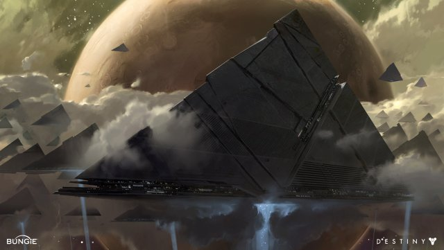 The darkness ships, pyramids
