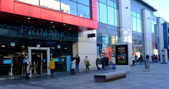Primark is back up and running