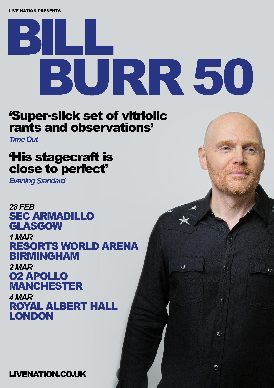 Bill Burr Announces 2019 Uk Tour The Live Review