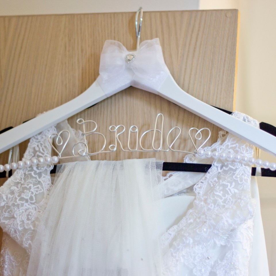 wedding dress wedding supersitions
