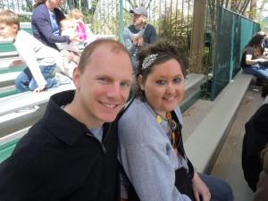 Billy and Vanessa at the zoo.