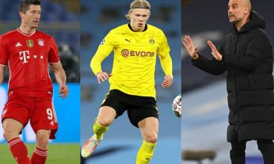 Lewandoski Believe Haaland Transfer to Chelsea will Trouble Pep Gaurdiola in City.