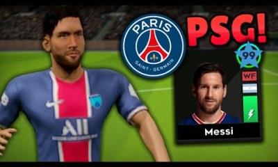 Download Dream League Soccer DLS 22 APK Messi on PSG Hack Profile.dat Unlimited Coins