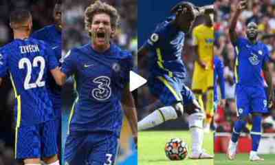 Watch Videos of Sensational Goals Of Entirely Chelsea Teams In August, Led By Ziyech And Alonso Opening of the Season.
