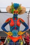 Body painting design- Artiste Bobbi Picker  Molly Robbo Model