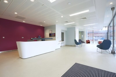 Reception area for events/exhibitions