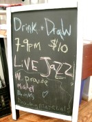 Drink & Draw!