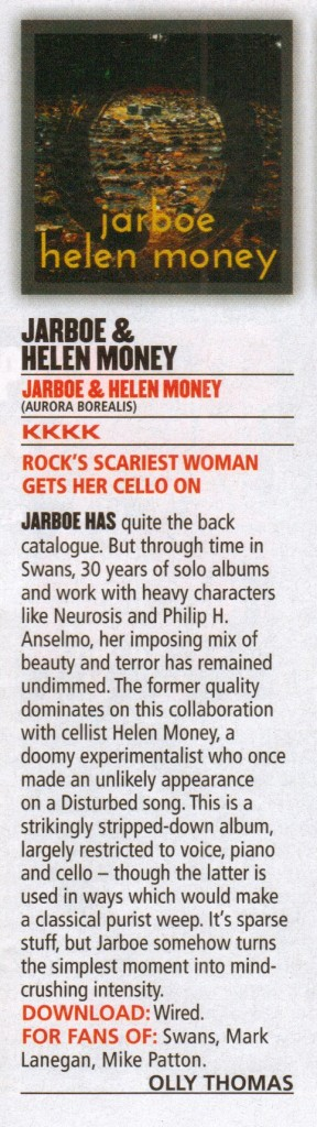 Jarboe & Helen Money_Kerrang!_review_Feb 28 2015 Issue