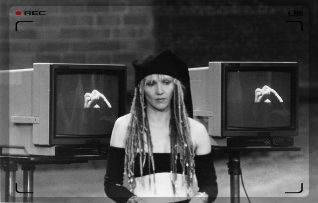 """from video for """"New Mind"""" , England."""