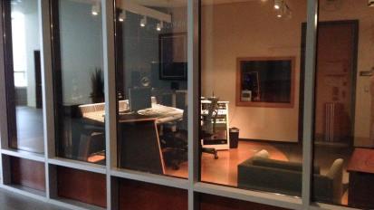 Voice tracking for Radio spot @ First Baptist Dallas studio.