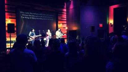 Ricker Center Conference Worship Camp