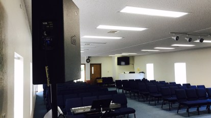 Audio System Install @ Tampa Duranno Church – Tampa, FL