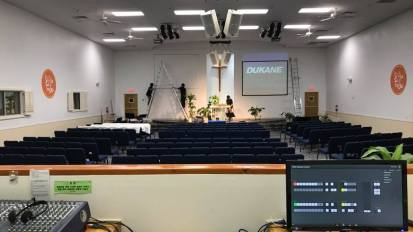 Video System Installation @ El Paso Central Baptist Church