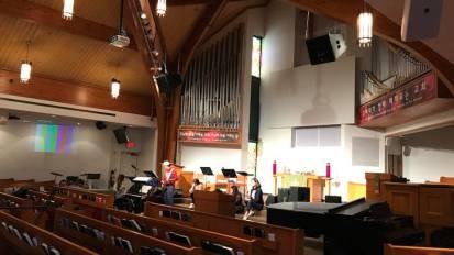 Audio System Installation @ Presbyterian Church of Metro Detroit