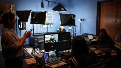 News Korea Video Shoot @ Living Sound Studio