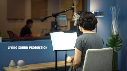 Bible Verse Recording @ Living Sound Studio