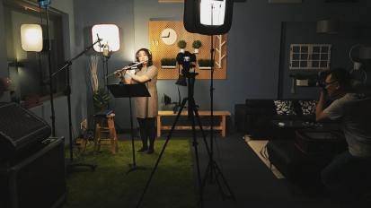 [VIDEO] Flute M/V Project @ Living Sound Studio