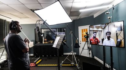 [Remote Recording] Dr. Paul Dhinakaran from Jesus Calls in Living Sound Studio