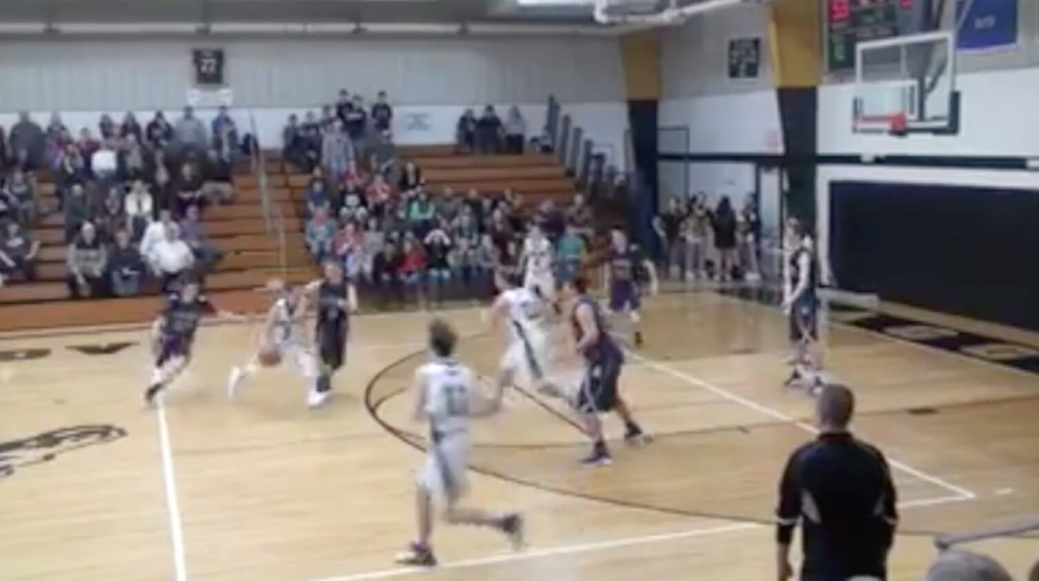 WATCH: Dansville's Josh Risner hits miracle 3-pointer to win game