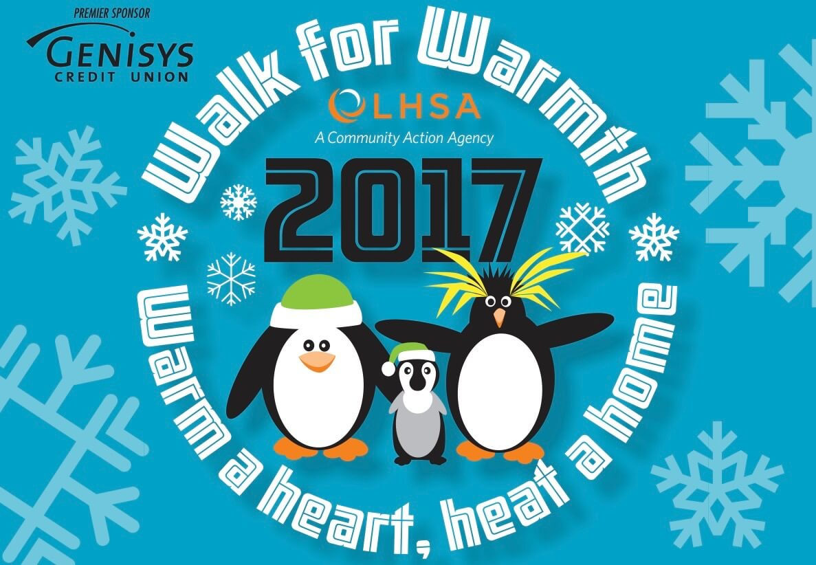 Walk for Warmth helps keep the heat on