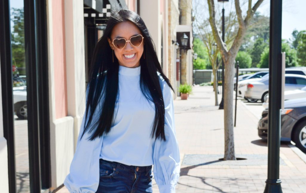 Baby Blue Hues with Shein