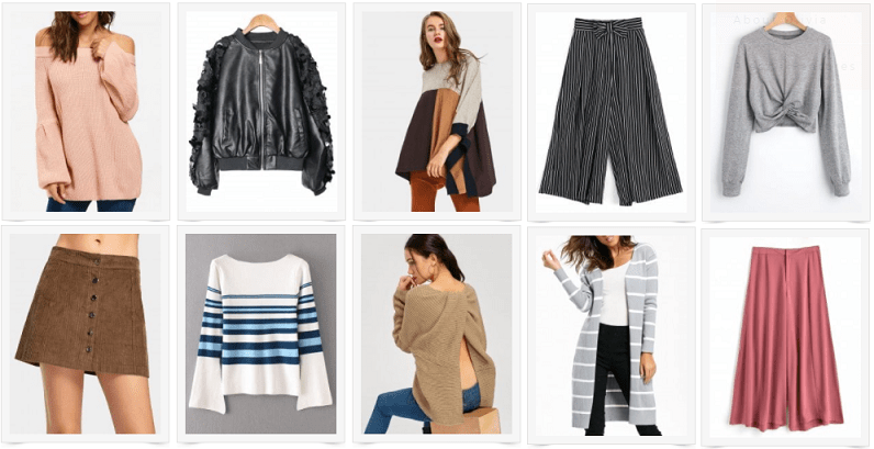Fall Fashion Picks with Zaful