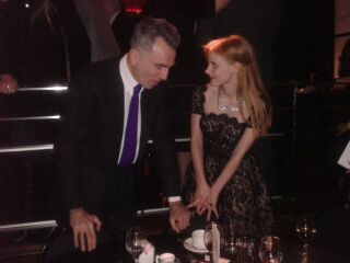 Daniel Day Lewis and Jessica Chastain at NYFCC Awards 2013