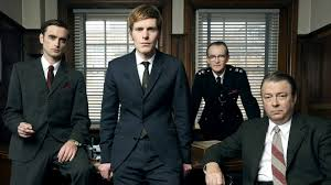 Men in White Skins: Shaun Evans and Roger Allam play members of the Oxford City Police CID